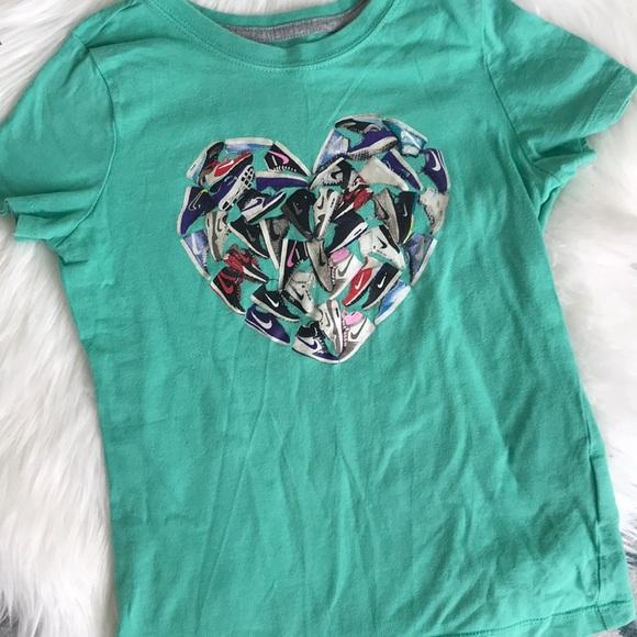 f623e0fa81a0 Nike Shirts & Tops   Girls Tee Tennis Shoes Design   Poshmark